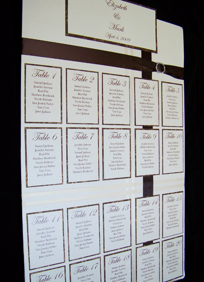 seating chart for weddings in winnipeg Do I really need assigned seating