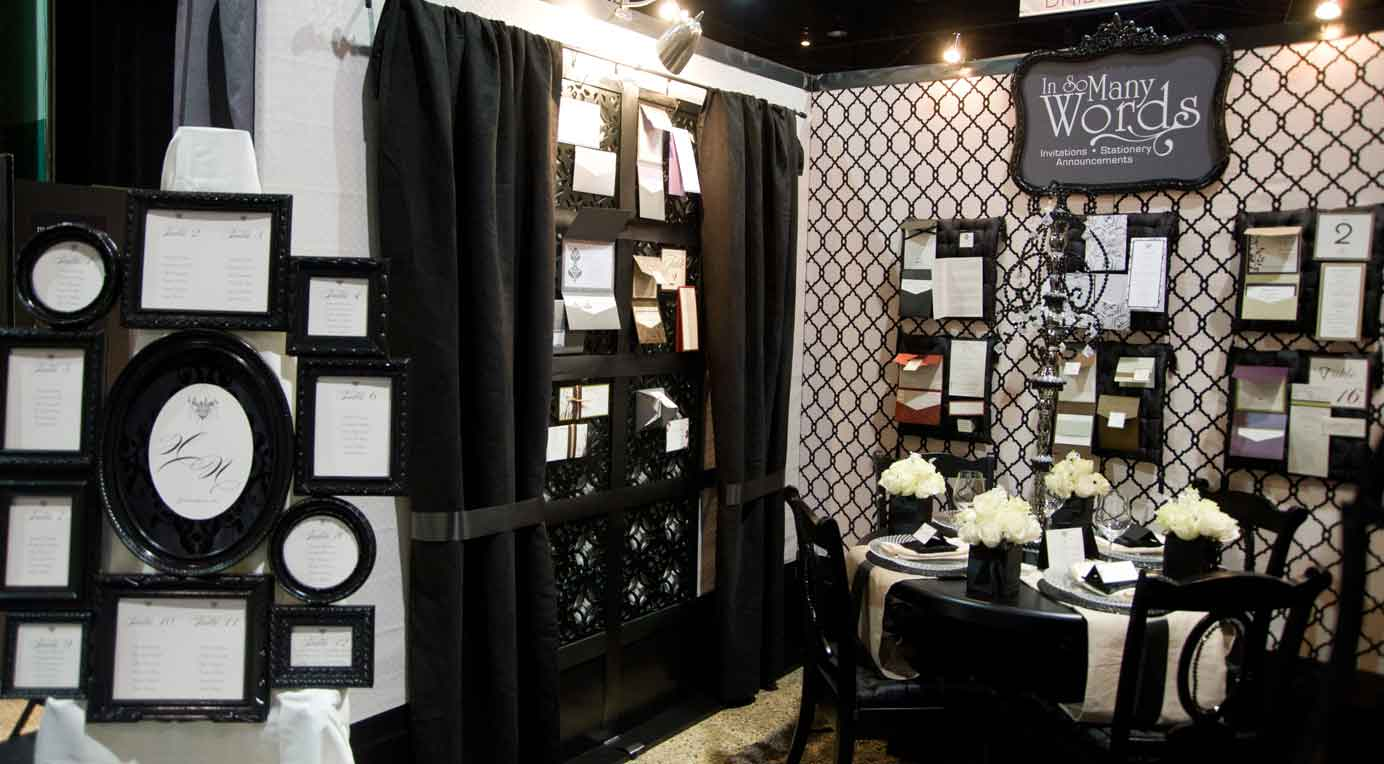 Wedding Exhibition Booth Design : Wonderful wedding show single booth winner in so